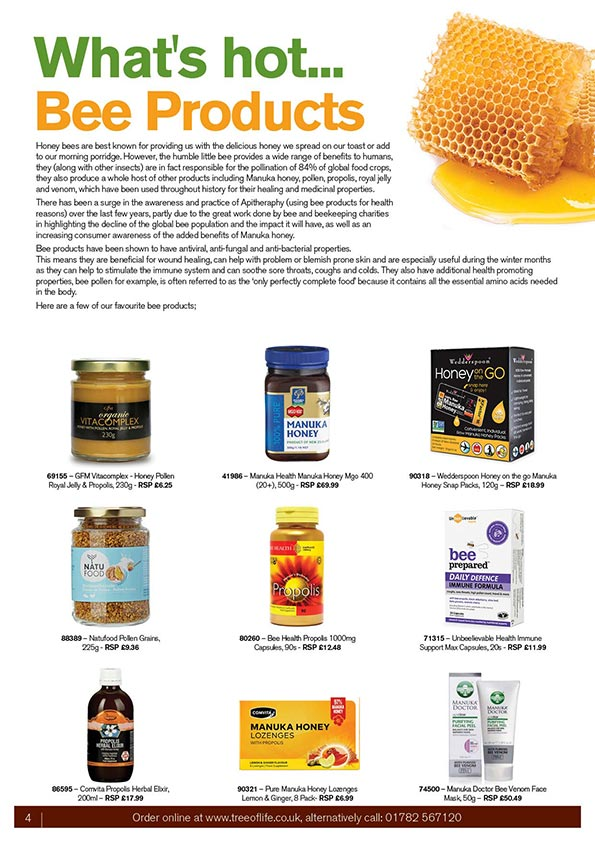 What S Hot Bee Products Tree Of Life Uk