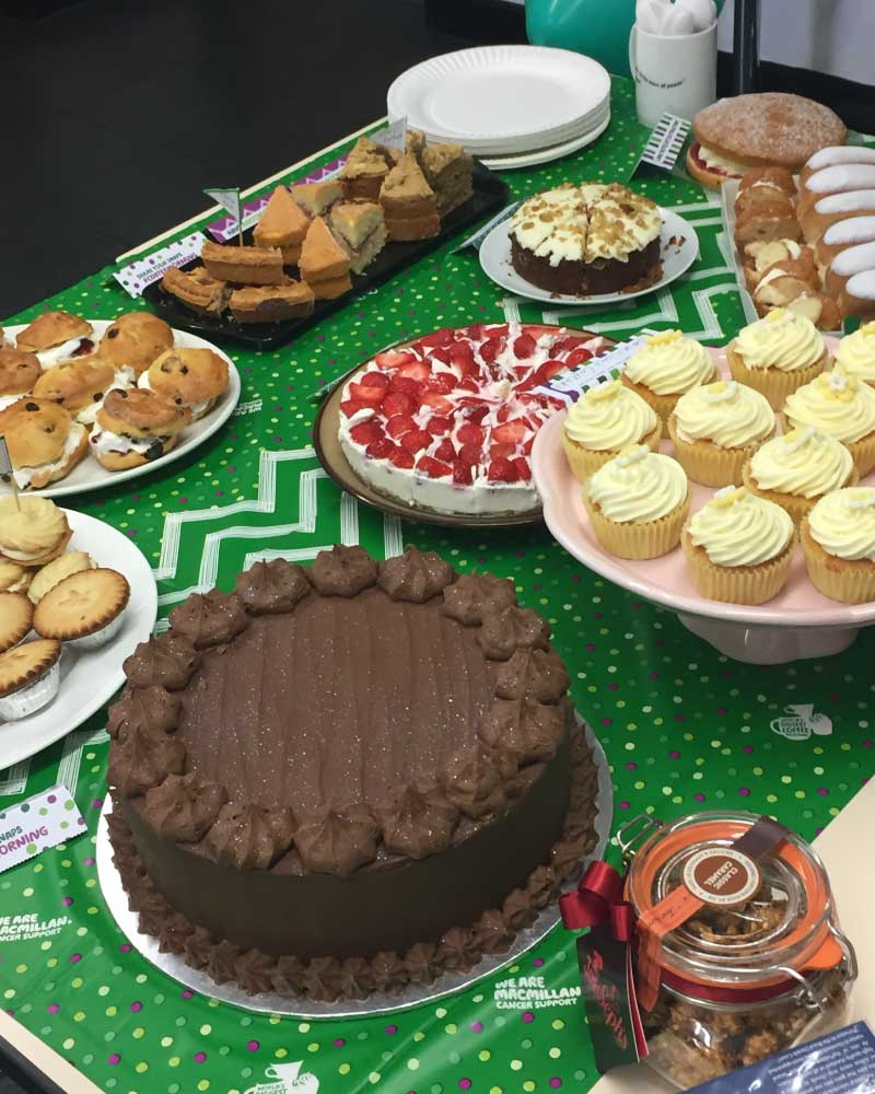 Mcmillan Coffee Morning Cakes