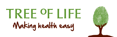Tree of Life - Making Health Easy. Logo